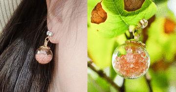 【部落客分享】無耳洞貼式耳環 女人就是腦波弱 誰能抵擋得住美麗的誘惑