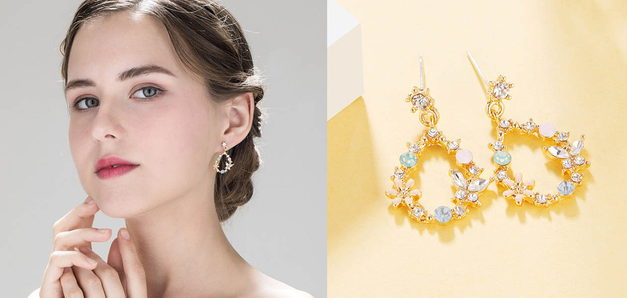 垂墜式耳環  耳針式-耳環 針式耳環 | Pierced Earrings