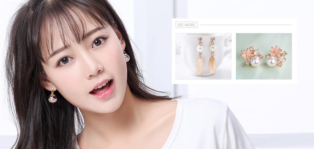 針式耳環-耳環 | Earrings