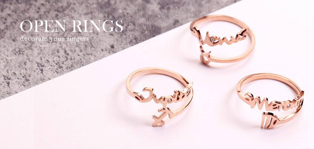 開口戒-戒指 | Rings