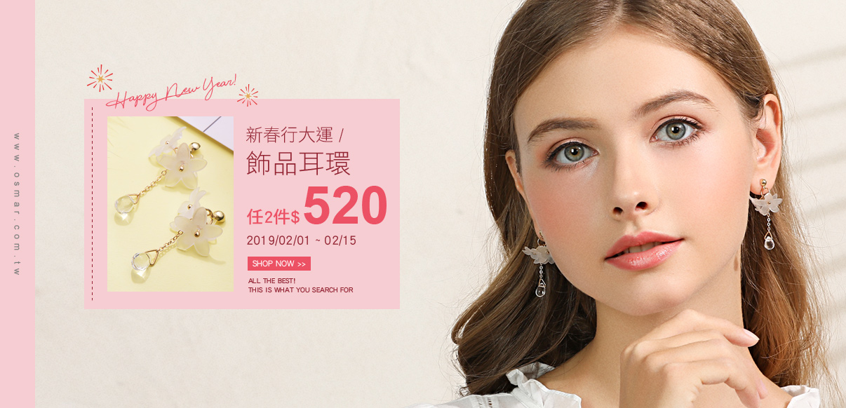 新春行大運2件520元-特別活動
