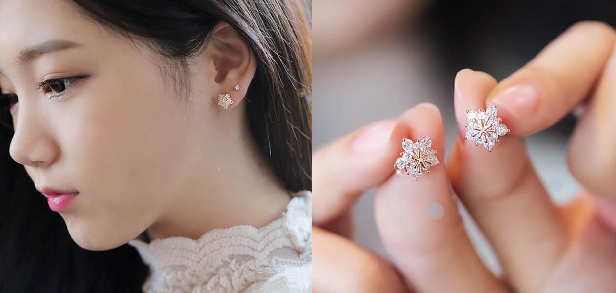 貼耳耳環 耳針式-耳環 針式耳環 | Pierced Earrings