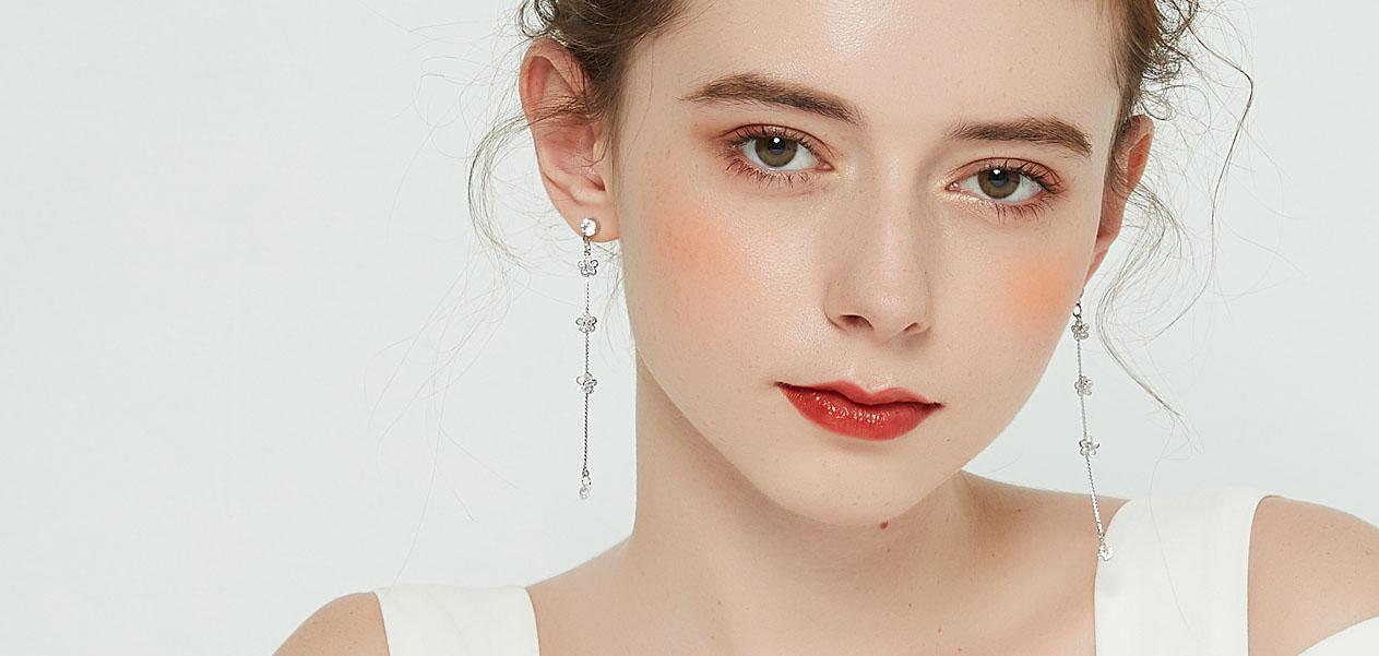 垂墜式耳環-耳環 | Earrings