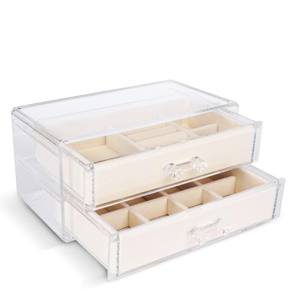 OSMAR抽屜式雙層飾品收納盒