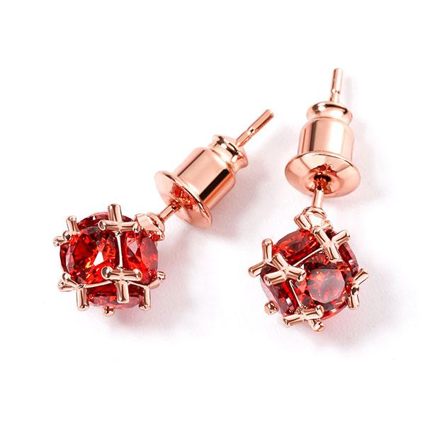 STK016RD-N 紅鑽-耳針款