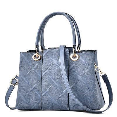 氣質淑女壓花手提包