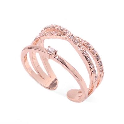 簡約線條指環