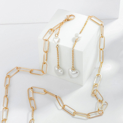 這是我們的愛情鎖鏈口罩鍊