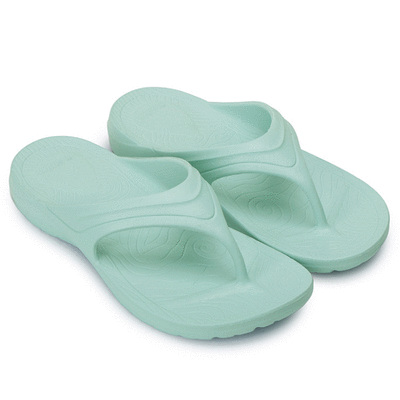 MIT台灣製-簡約純色一體成形夾腳拖鞋