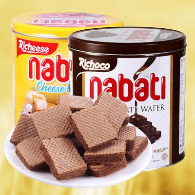 超人氣網紅商品Nabati麗芝士威化捲威化餅起司巧克力