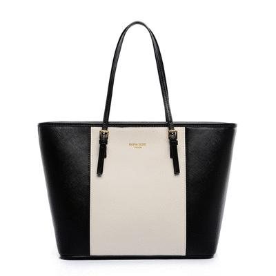 簡約時尚大容量手提側背包