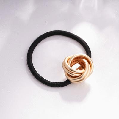 浪漫螺旋氣質彈性髮圈
