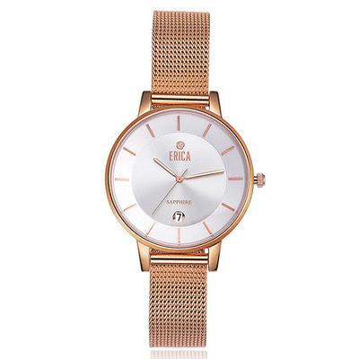ERICA 米蘭不鏽鋼腕錶(MIT台灣製)禮盒包裝
