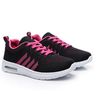 MIT台灣製-動感飛織網布氣墊運動鞋