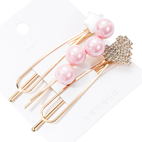 HAC002PK 粉色珍珠