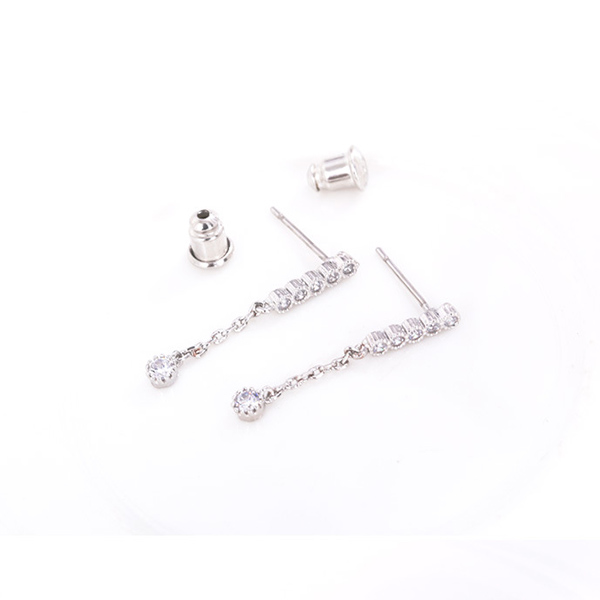 STK011SV-N 銀色-耳針款