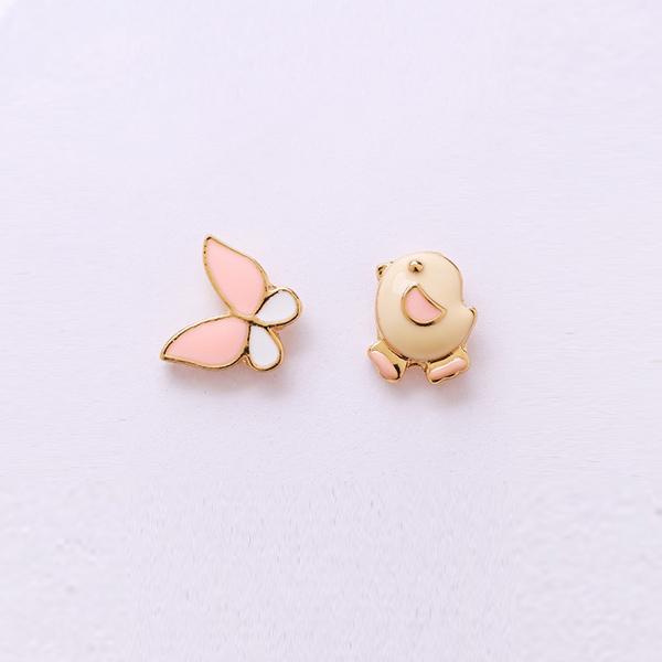 STK172CB-N 小雞蝴蝶-耳針款