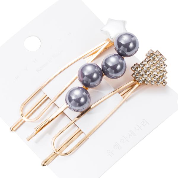 HAC002GY 灰色珍珠