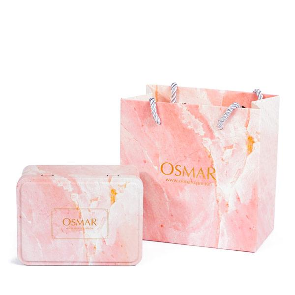 PKG001PK 粉色(鐵盒+提袋)