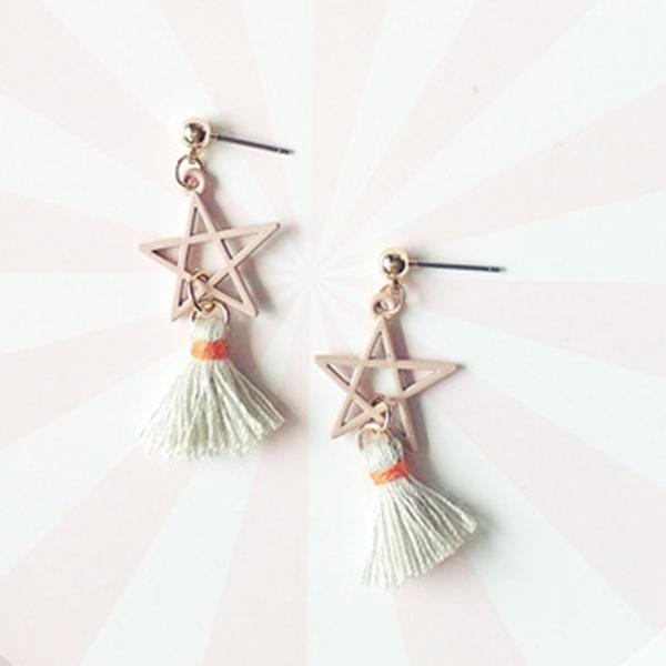 STK276PK-N 粉色-耳針款