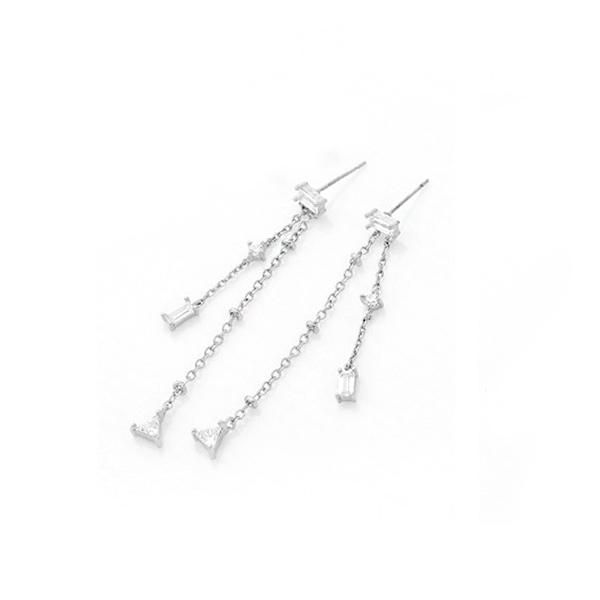 STK015SV-N 白金色-耳針款