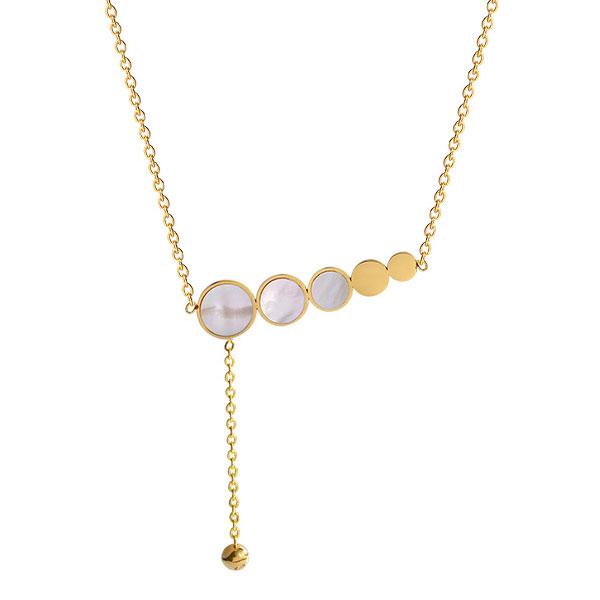 清新簡約個性珠母貝項鍊