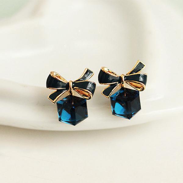 STK157BL-N 藍色-耳針款
