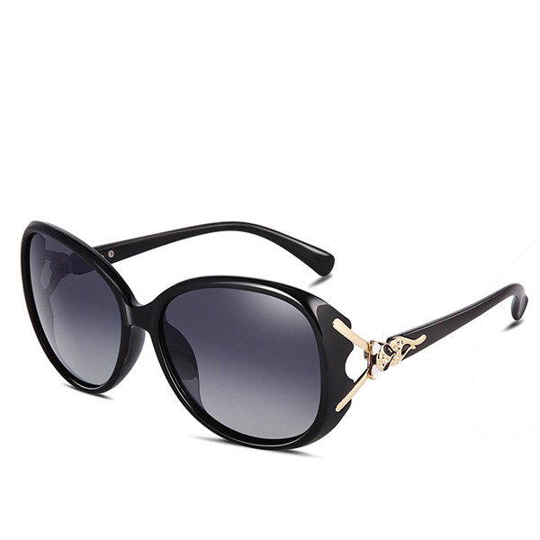優雅復古偏光防紫外線太陽眼鏡 [現在買送眼鏡盒]