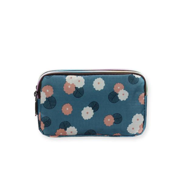 LDB566LB 淺藍色小花朵